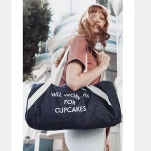 Private Party NWOT bag Will Workout For Cupcakes